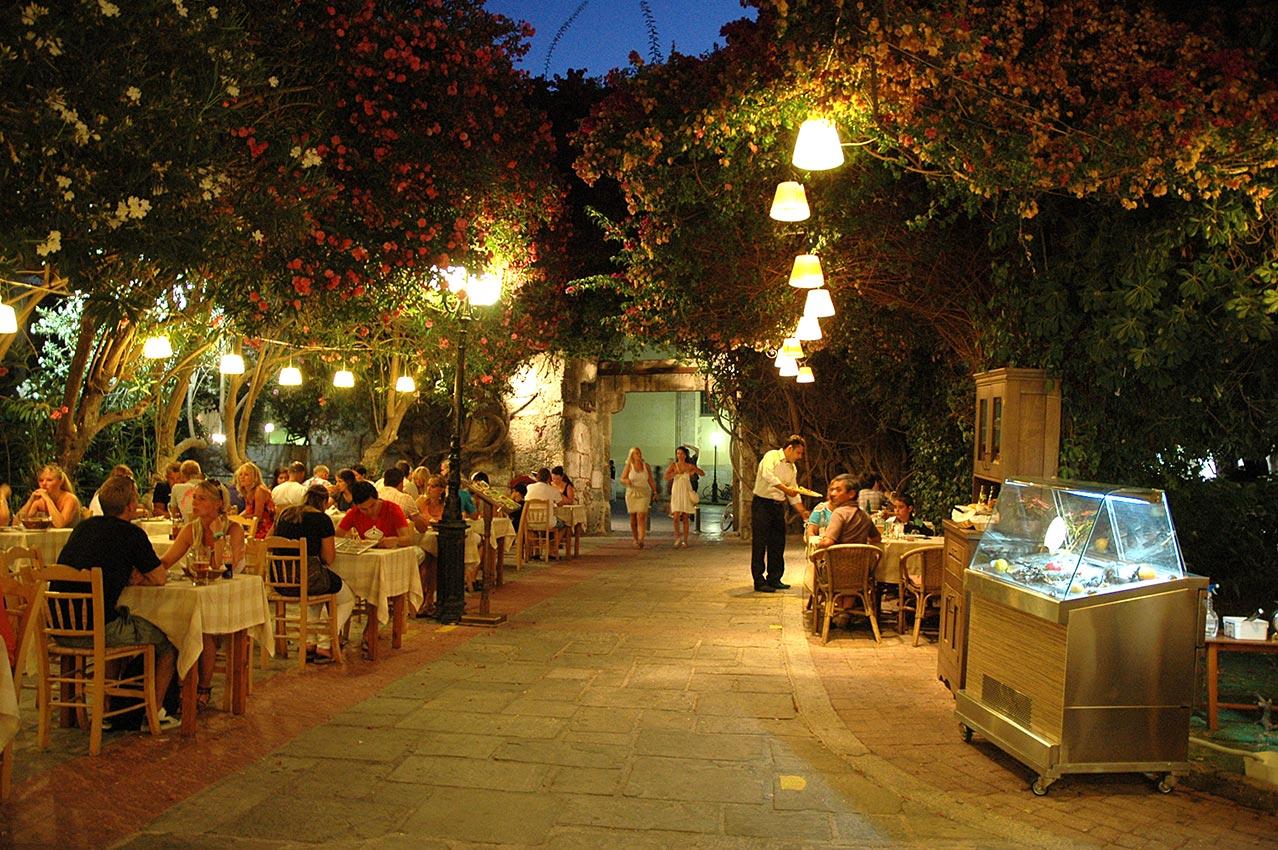 Photo gallery select restaurant in kos island for Kos milano ristorante